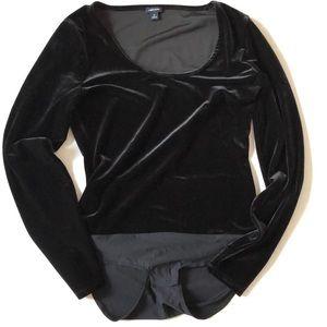 Jcrew jeans velvet body suit size medium